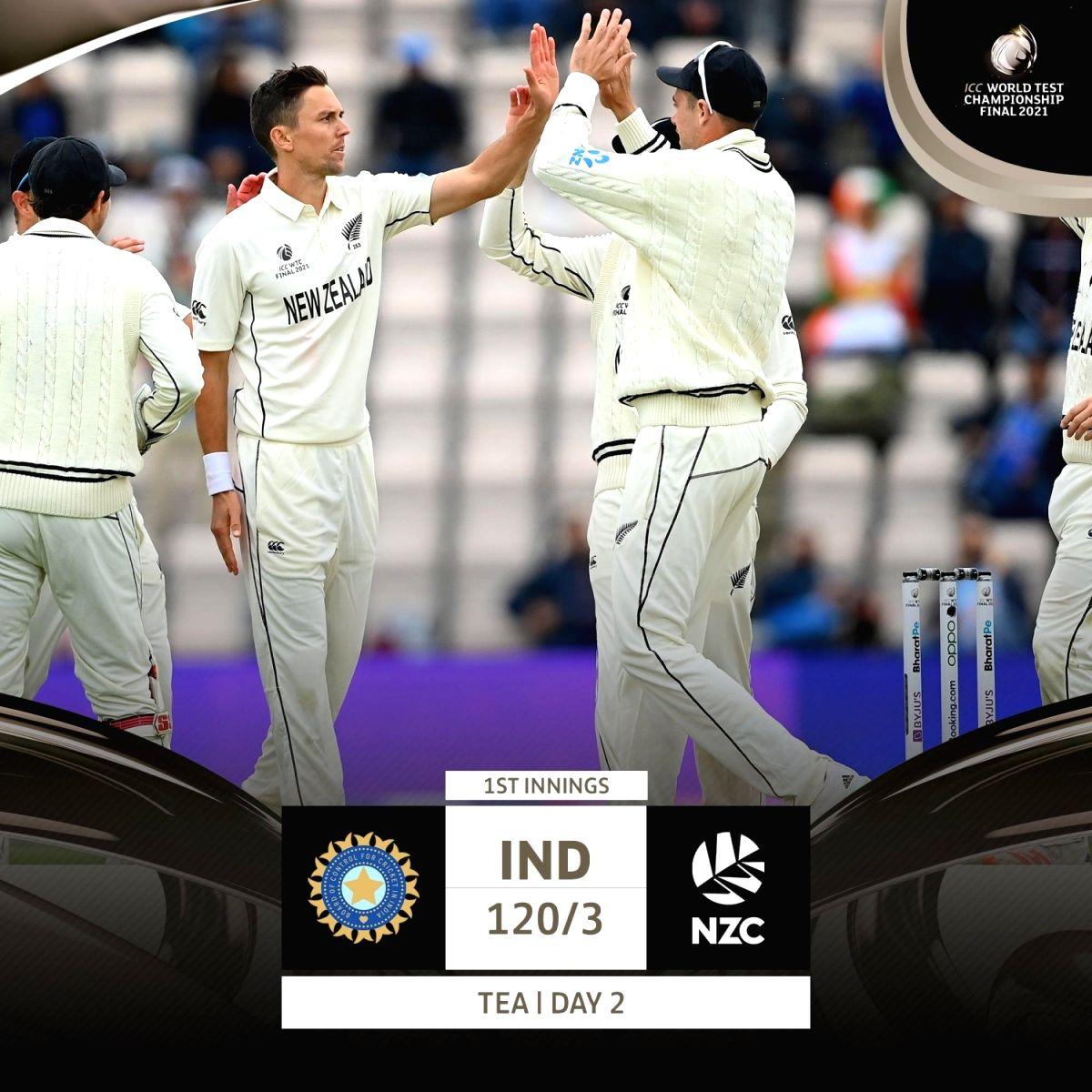 India vs New Zealand WTC Final .(photo:ICC Twitter)