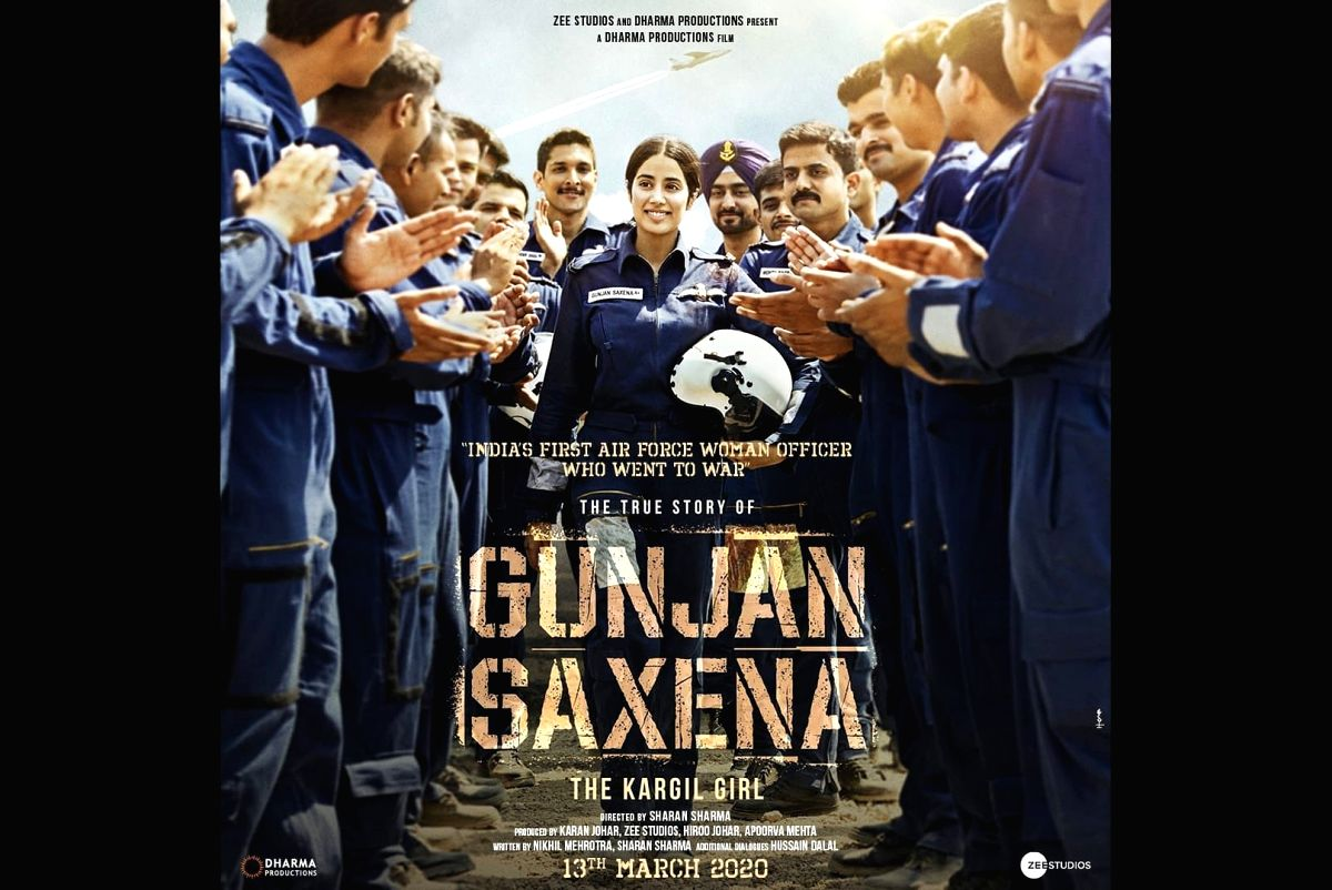 "Indian Air Force combat pilot Gunjan Saxena's upcoming biopic ""The Kargil Girl"", starring Janhvi Kapoor in the titular role, will hit the screens on March 13 next year. Karan Johar, who produces the project, took to social media on Thursday and unvei"