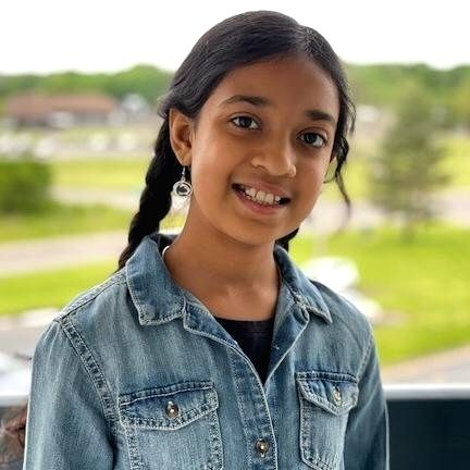 indian american girl in johns Hopkins world's brightest list.