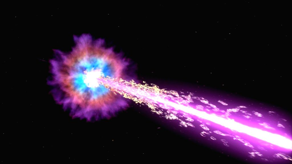 Indian astronomers part of team spotting unique Gamma-ray burst.