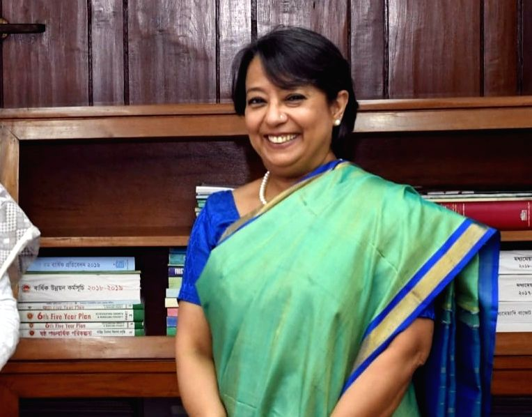 Indian High Commissioner to Bangladesh Riva Ganguly Das. Photo: twitter@rivagdas)