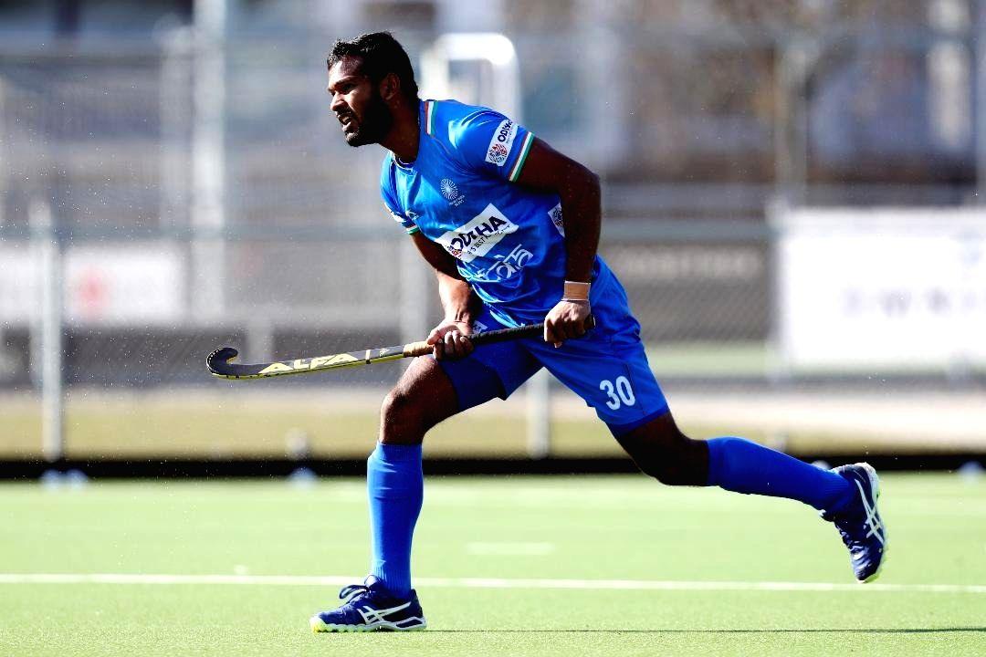Indian Hockey Defender Amit Rohidas.(pic:Hockey India)