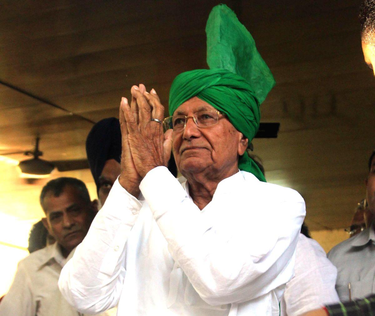Indian National Lok Dal (INLD) leader Om Prakash Chautala. (File Photo: IANS)
