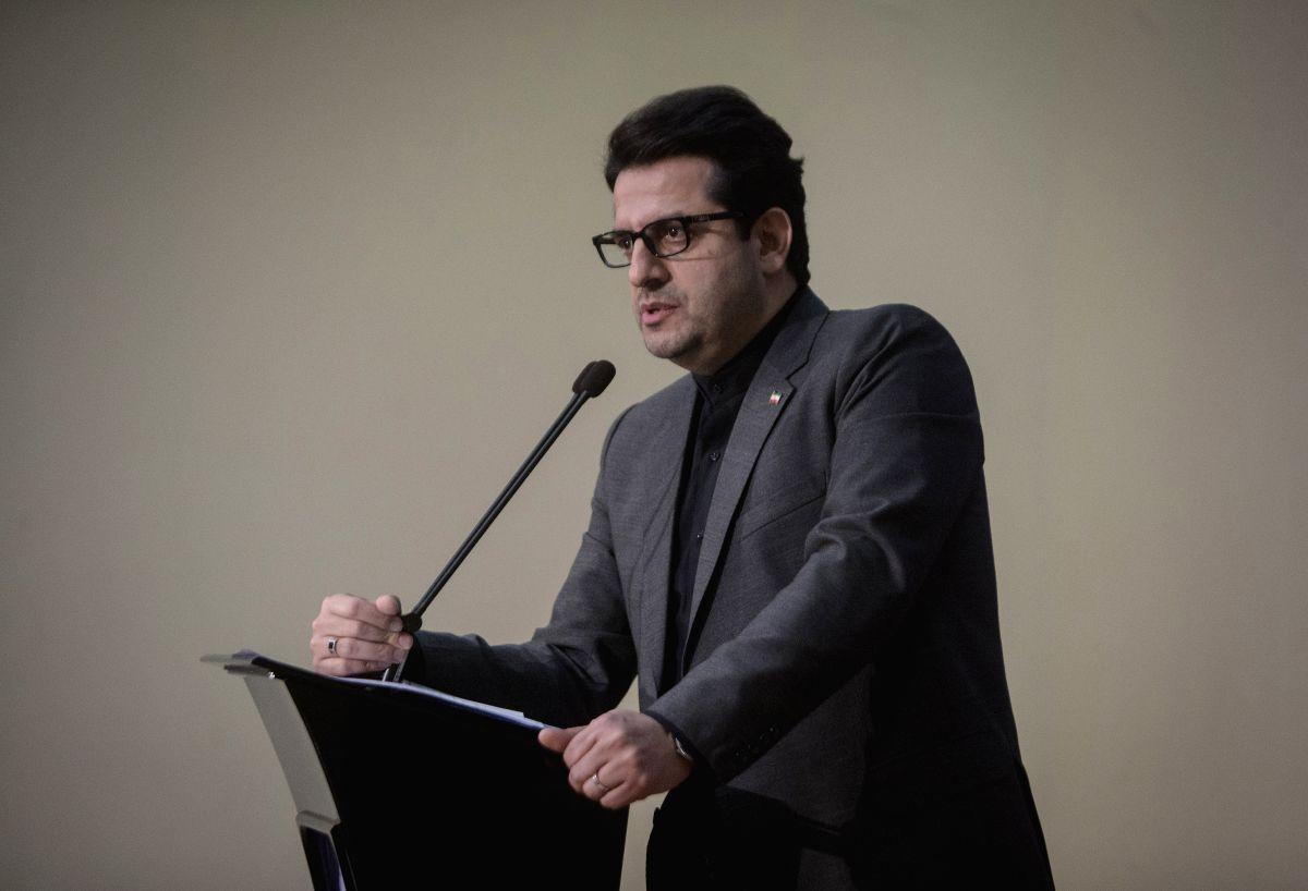 Iranian Foreign Ministry spokesman Abbas Mousavi. (Photo by Ahmad Halabisaz/Xinhua/IANS)