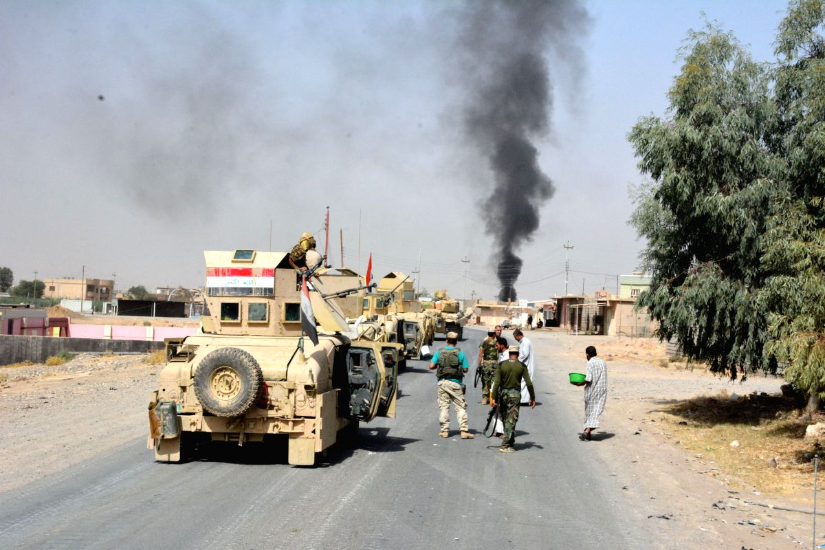 Iraqi forces launch major anti-IS offensive