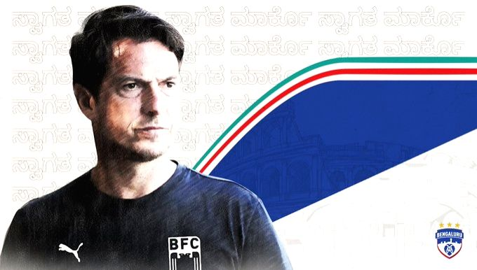 ISL: Bengaluru FC appoint Marco Pezzaiuoli as head coach.(photo:Twitter)