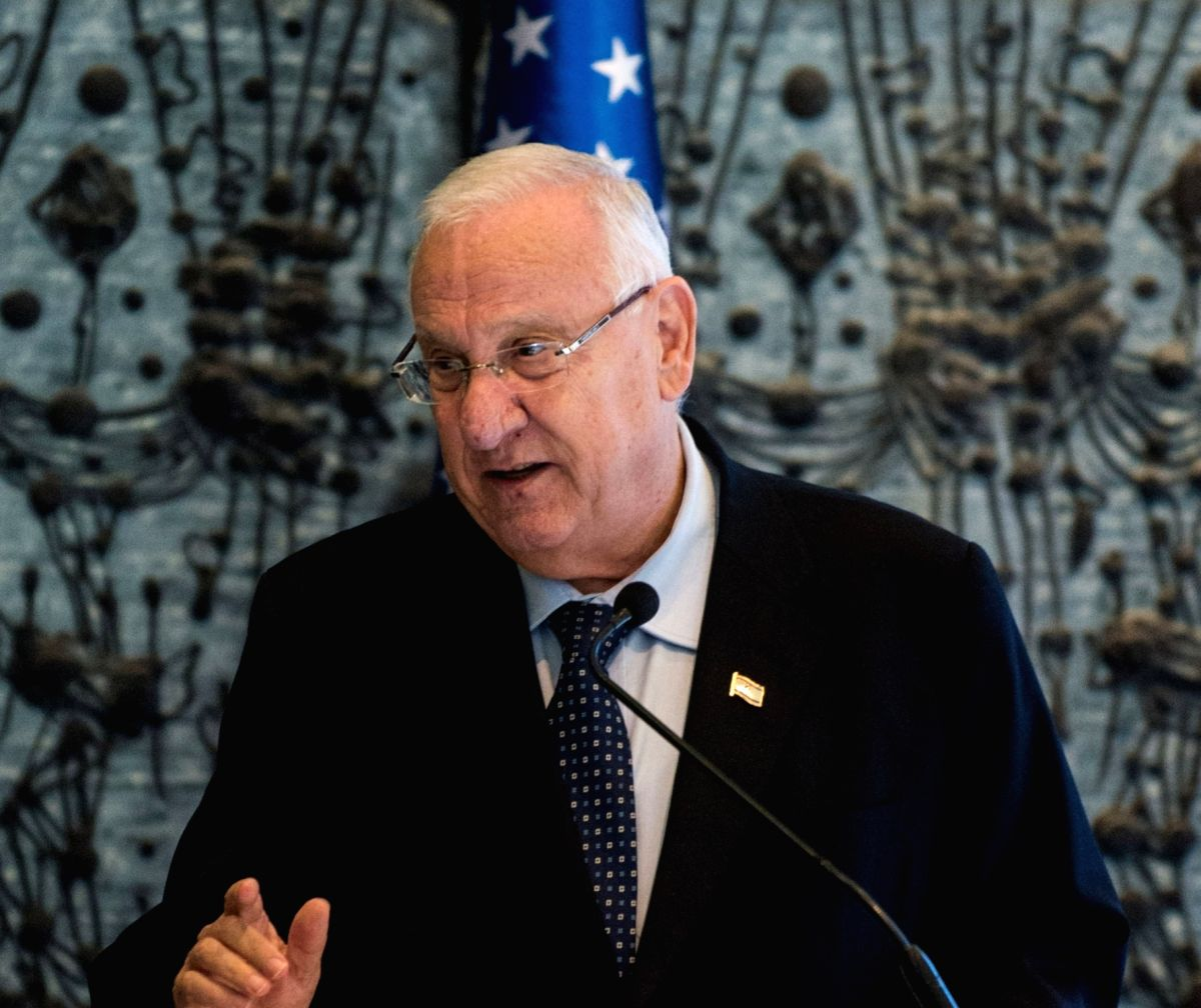 Israel President Reuven Rivlin. (File Photo: IANS)