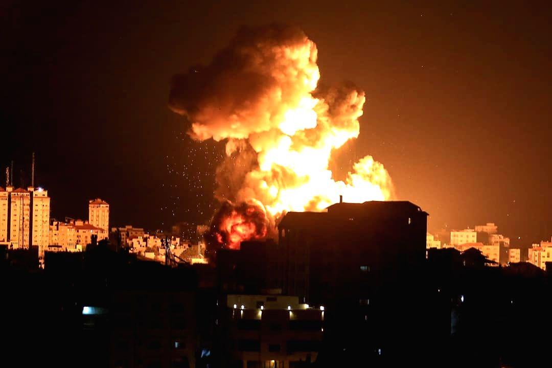 Israel strikes in Gaza after arson attacks