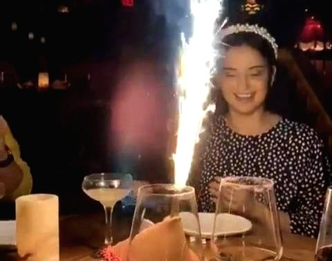 """It's Diwali time and actress Kangana Ranaut seems to be in full festive spirit. She is currently in Los Angeles to prepare her upcoming film """"Thalaivi"""", which is based on the former Chief Minister of Tamil Nadu, J Jayalalithaa."""
