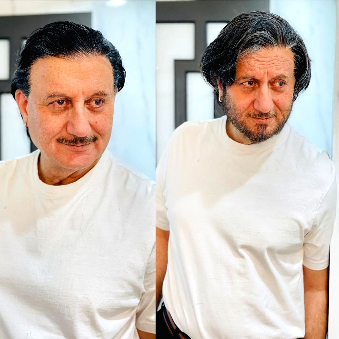 """It seems like actor Anupam Kher is all set to don a role where his look is dramatically different. The actor took to Instagram to share two pictures, promising his fans that """"something complex"""" is on the way."""