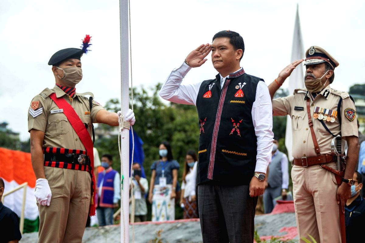 "Itanagar, Aug 15 (IANS) Unfurling the national flag on the occasion of the 74th Independence Day, Arunachal Pradesh Chief Minister Pema Khandu on Saturday launched the ""Arunachal Pradesh Challenge Entrepreneurship Programme"" to boost entrepreneurship"