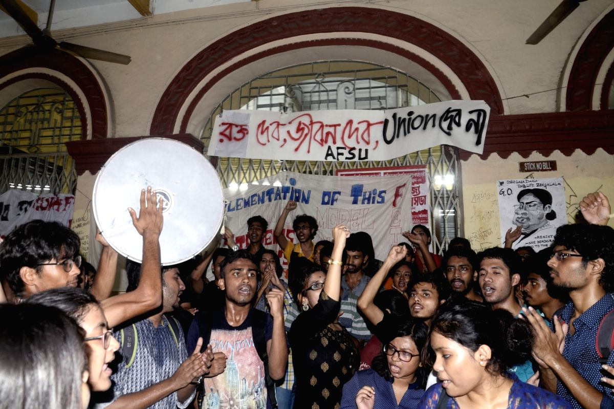 Protests over 'apolitical' students' council rock