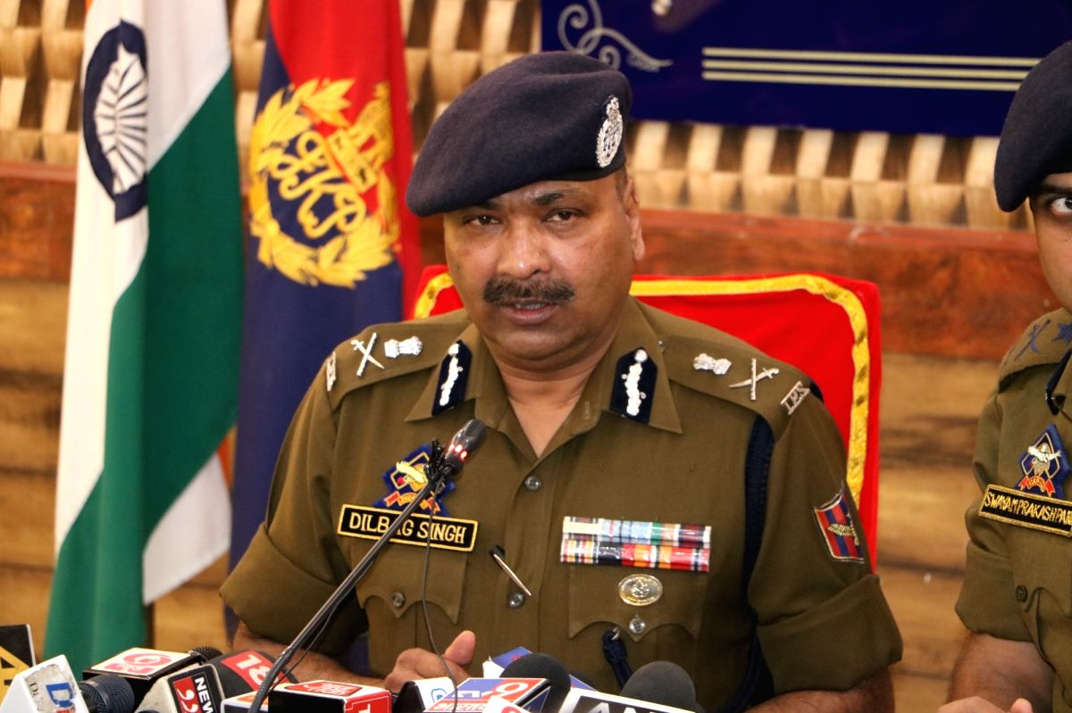 Jammu and Kashmir Director General of Police Dilbagh Singh.