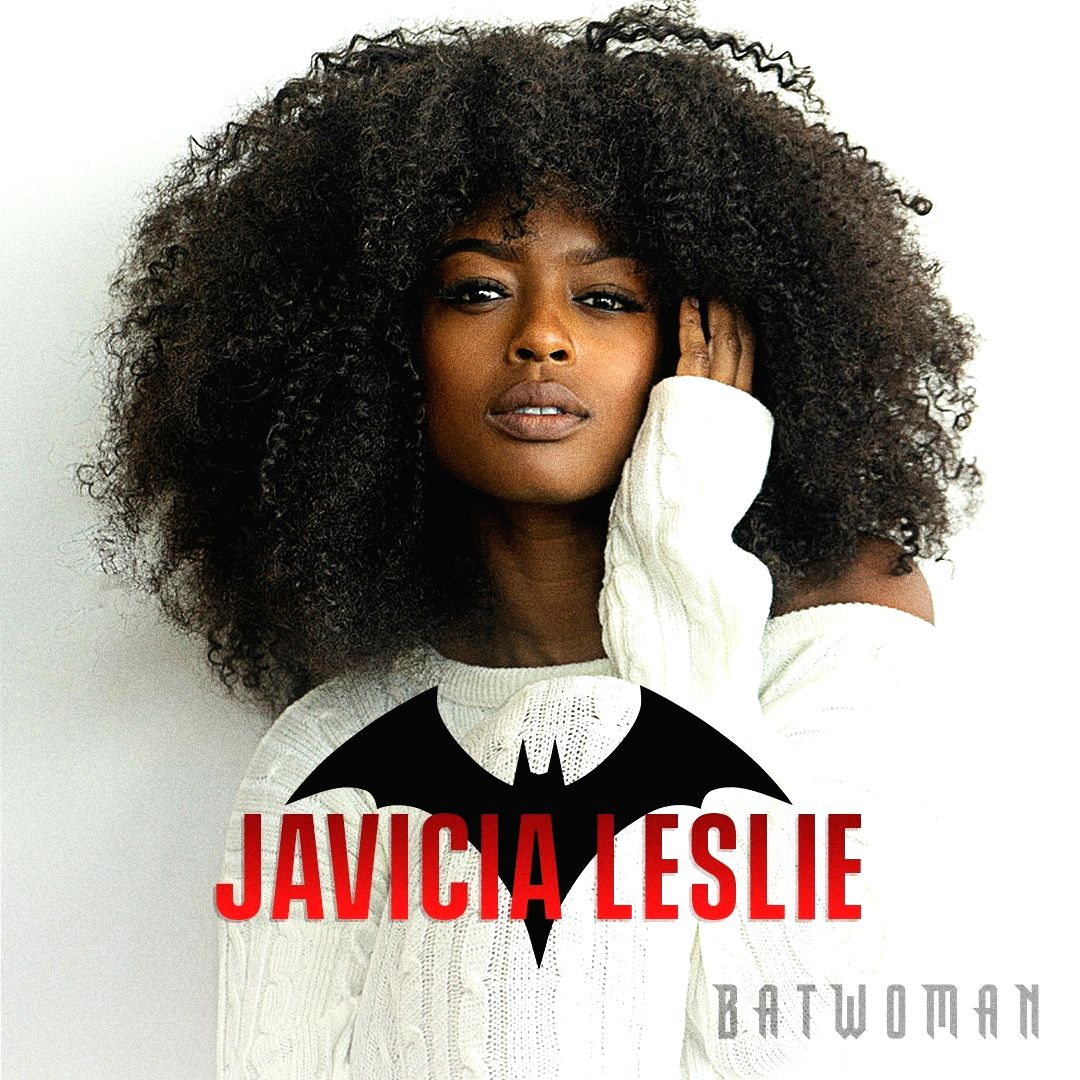 Javicia Leslie is first Black actress to play Batwoman.