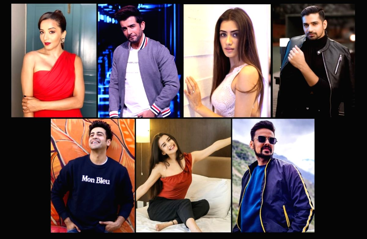 Jay Bhanushali, Monalisa open up on their roles in 'Dhappa'.