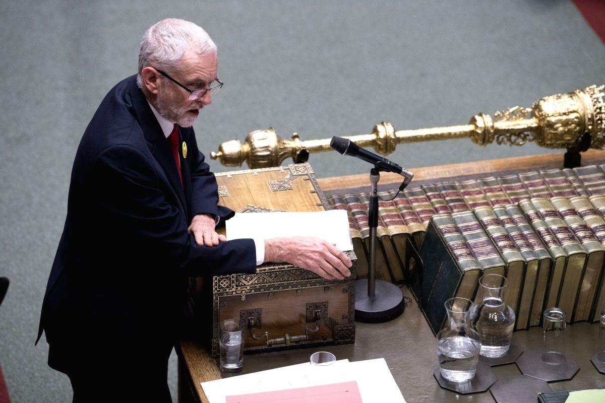Jeremy Corbyn. (Xinhua/UK Parliament/Jessica Taylor/IANS)