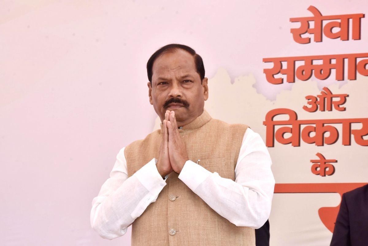 Jharkhand Chief Minister Raghubar Das.