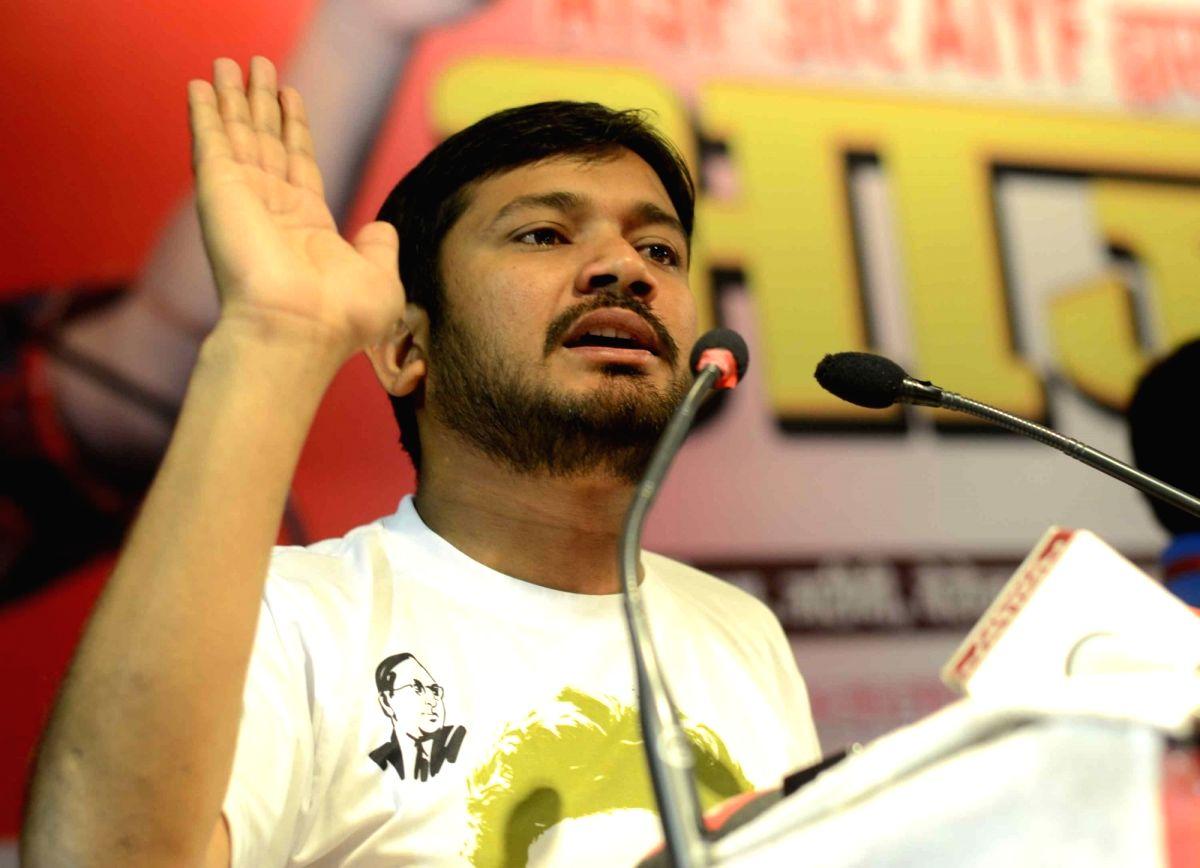JNUSU president Kanhaiya Kumar. (File Photo: IANS)