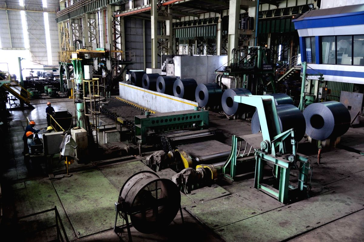 JSW Steel plant in Ballari, Karnataka.