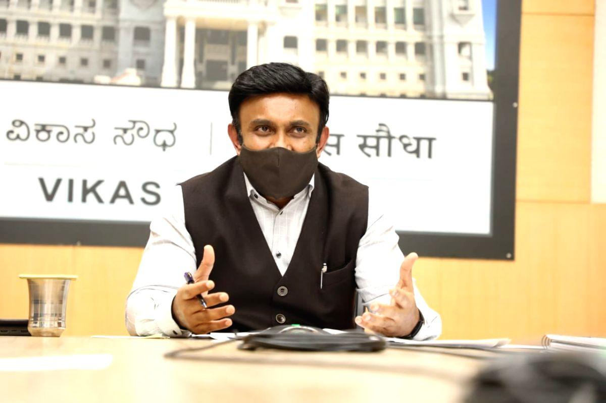 K. Sudhakar. (Photo: Twitter@mla_sudhakar)