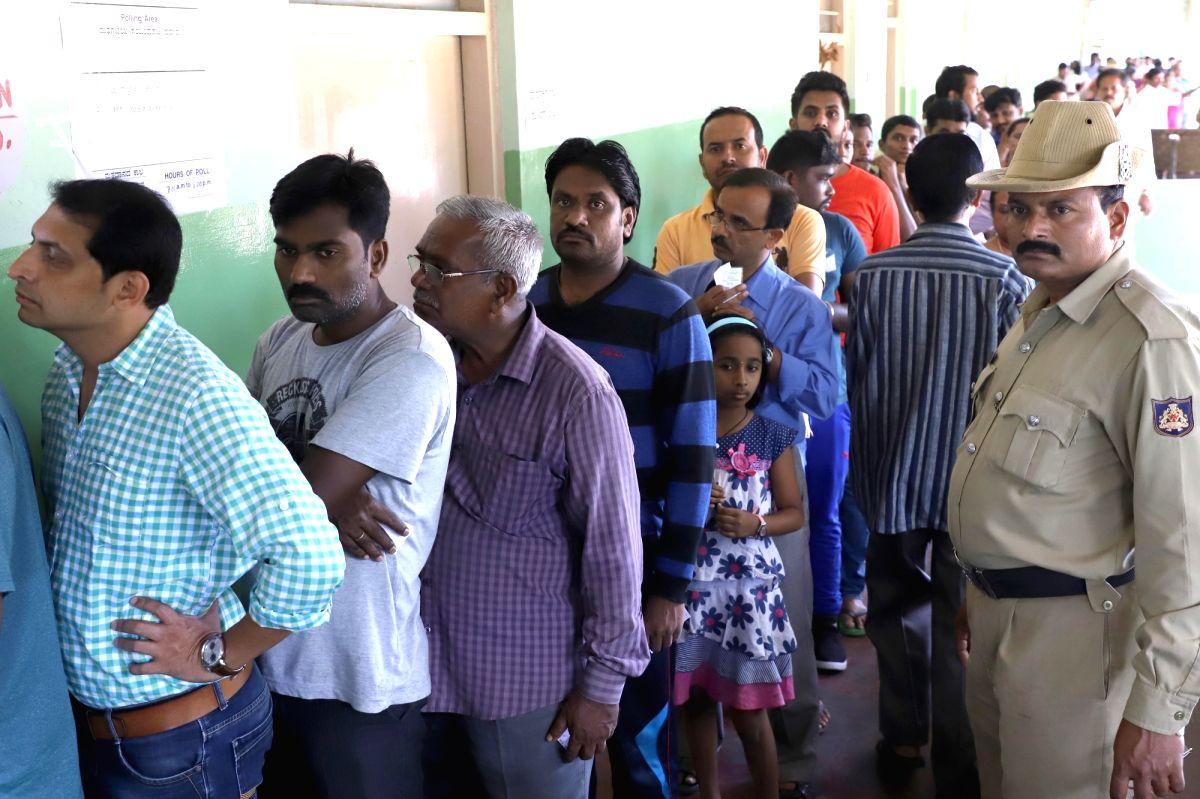 K'taka by-polls: Sira registers 44%, RR Nagar 26.5% turnout till 1 p.m