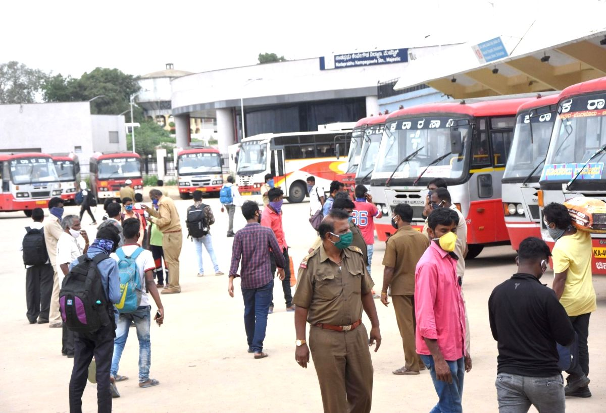 Karnataka transport unions protest affects bus services