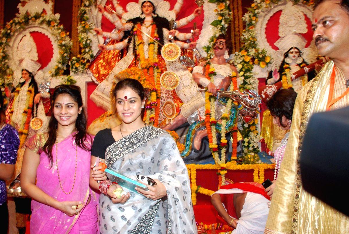 Durga Puja with Kajol