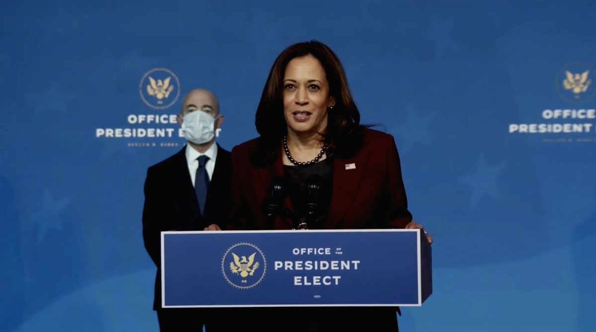 Kamala Harris bookends Biden's national security team unveiling: Full transcript