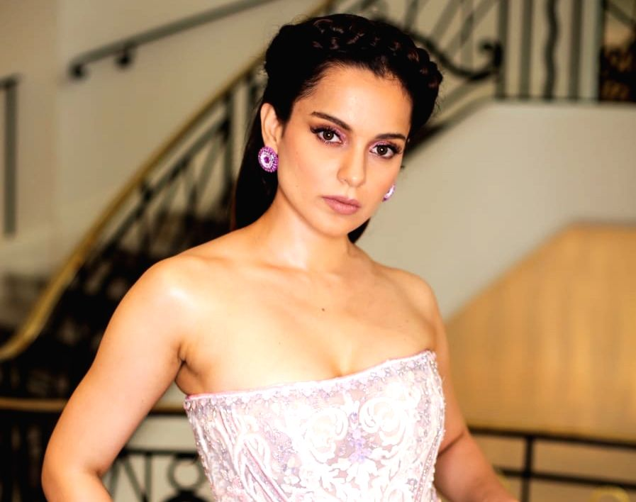 Kangana Ranaut chooses a stunning white gown at Cannes Film Festival..