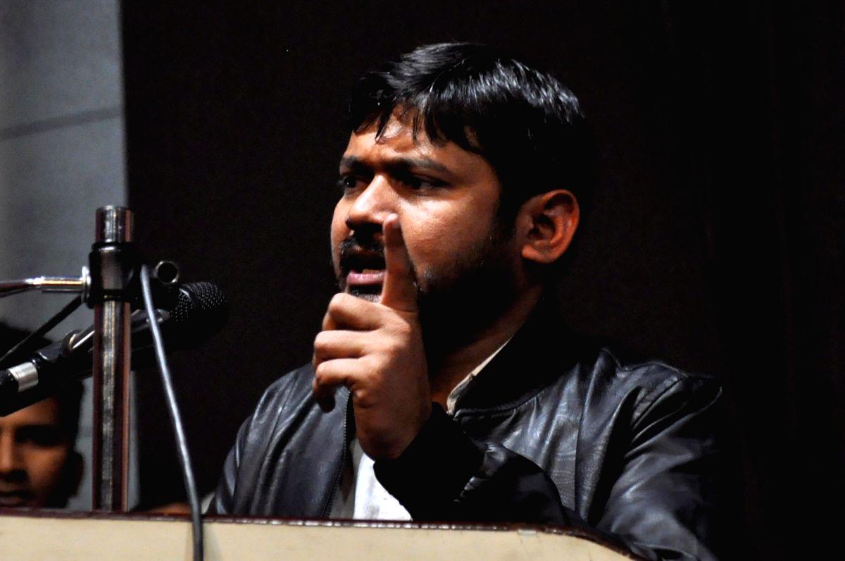Kanhaiya Kumar's convoy attacked in Bihar.