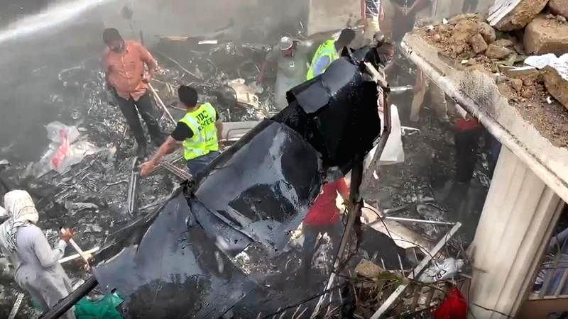 Karachi plane crash toll increases to over 90