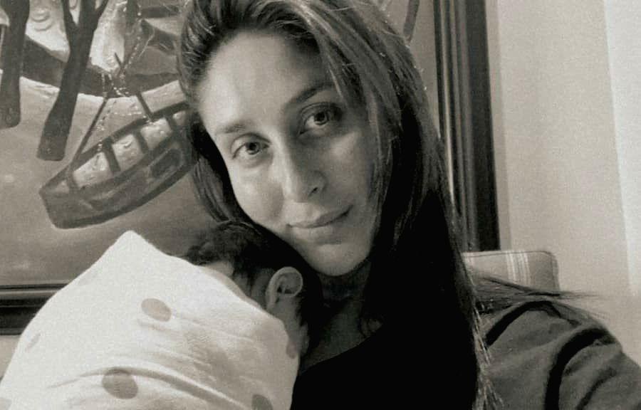 Kareena Kapoor posts first picture of newborn son.(photo:Instagram)