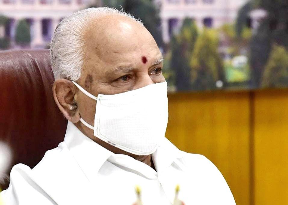 Karnataka Chief Minister B.S. Yediyurappa .