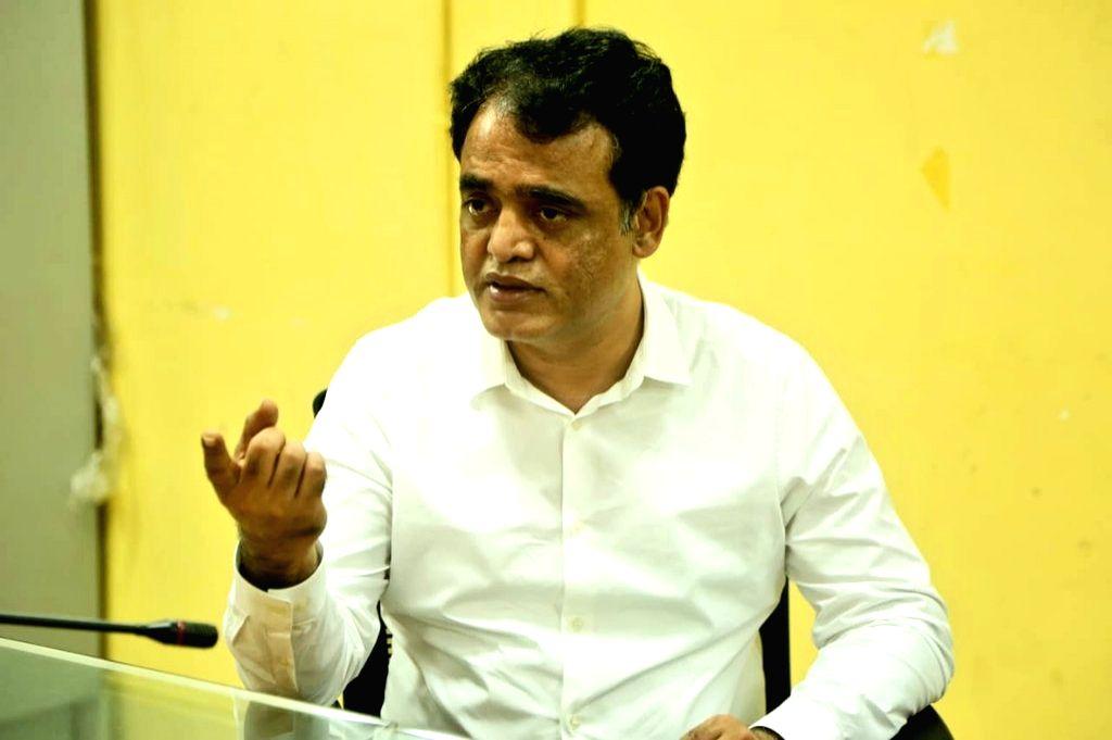 Karnataka Deputy Chief Minister C. N. Ashwathnarayan. (Photo: Twitter@drashwathcn)