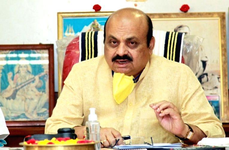Karnataka Home Minister Basavaraj S. Bommai. (Photo: Twitter@BSBommai)