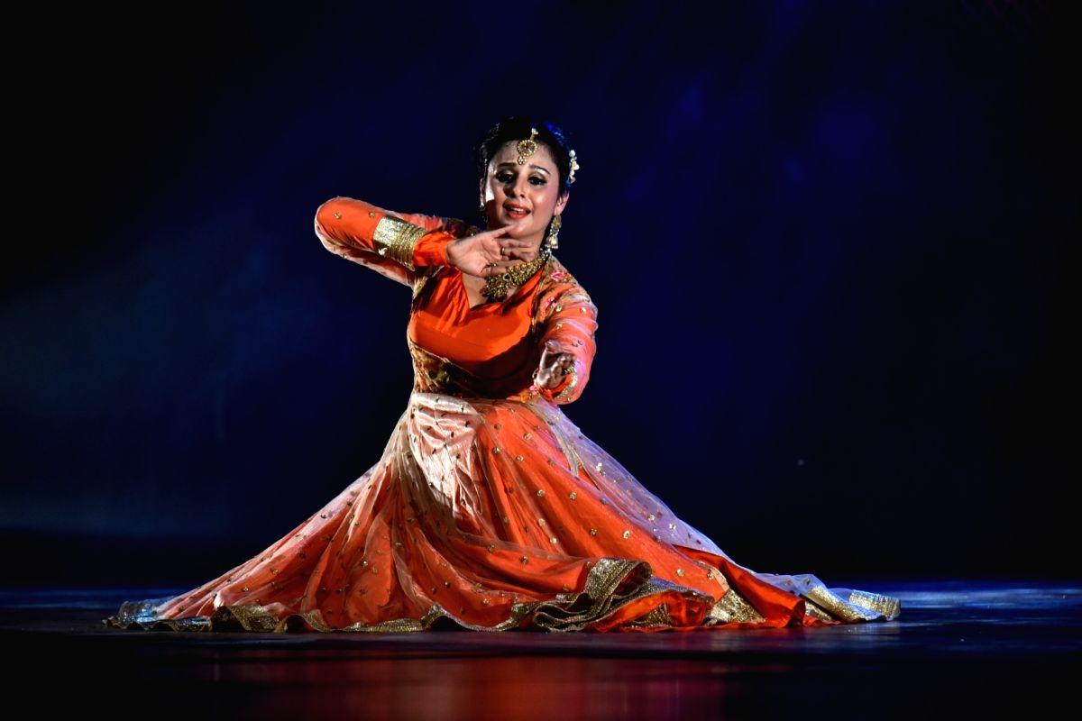 Kathak danseuse Astha Dixit.