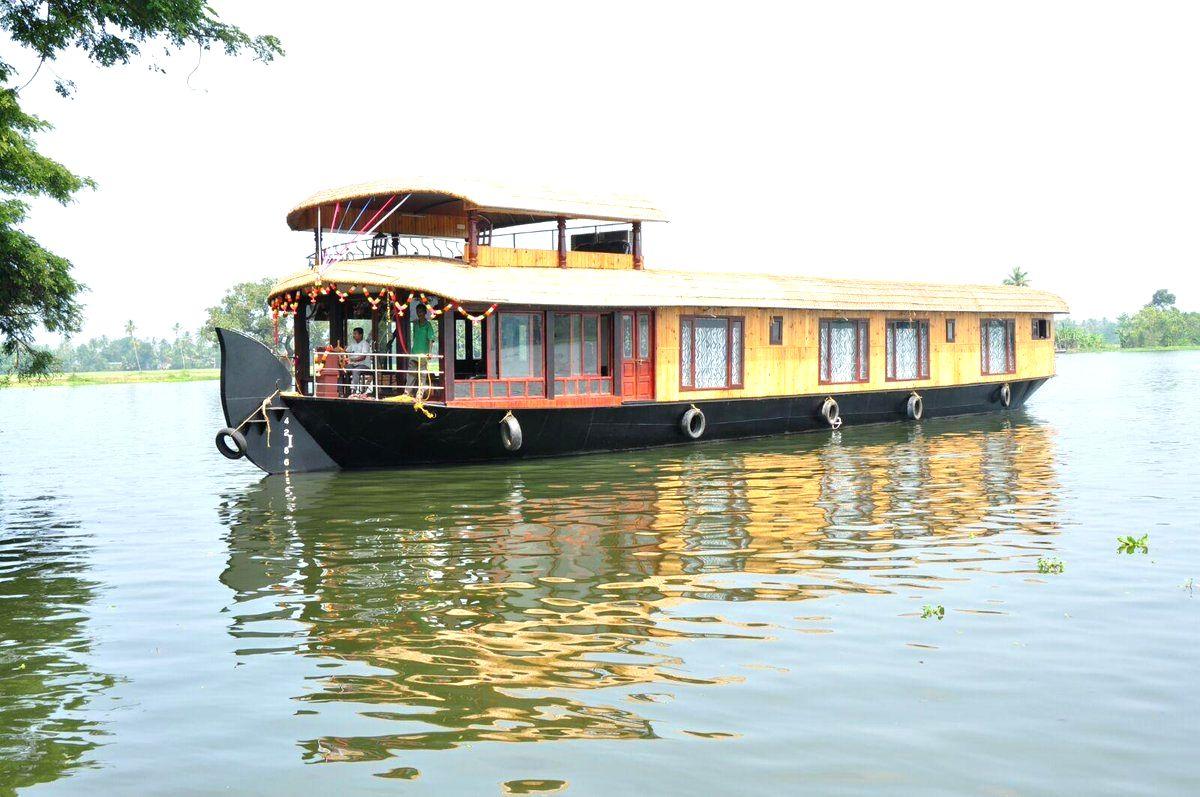 Kerala houseboats ready to greet tourists again