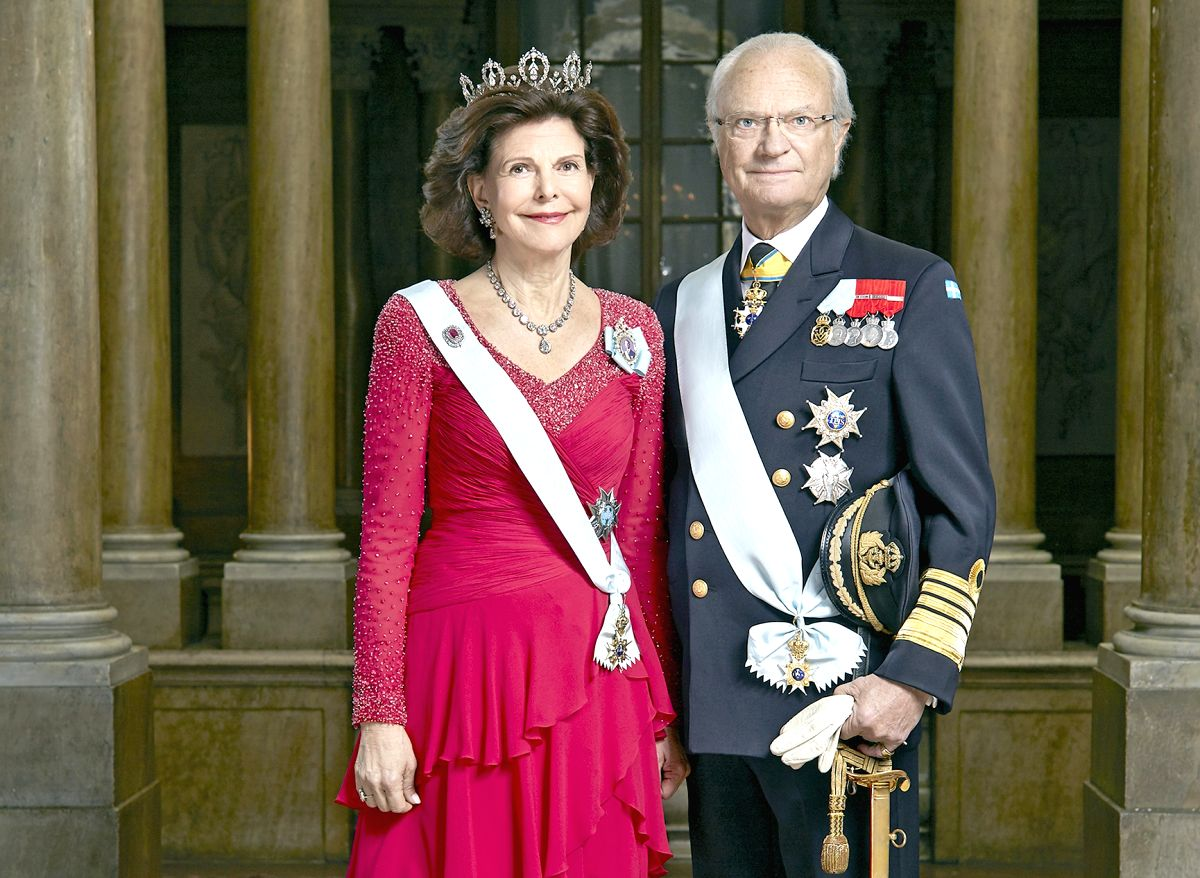 King of Sweden Carl XVI Gustaf and Queen Silvia. (File Photo: IANS)