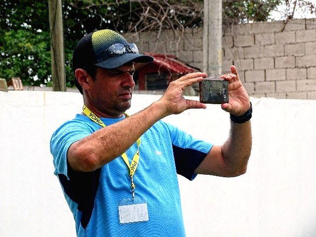 Member of the ICC Elite umpire panel Aleem Dar