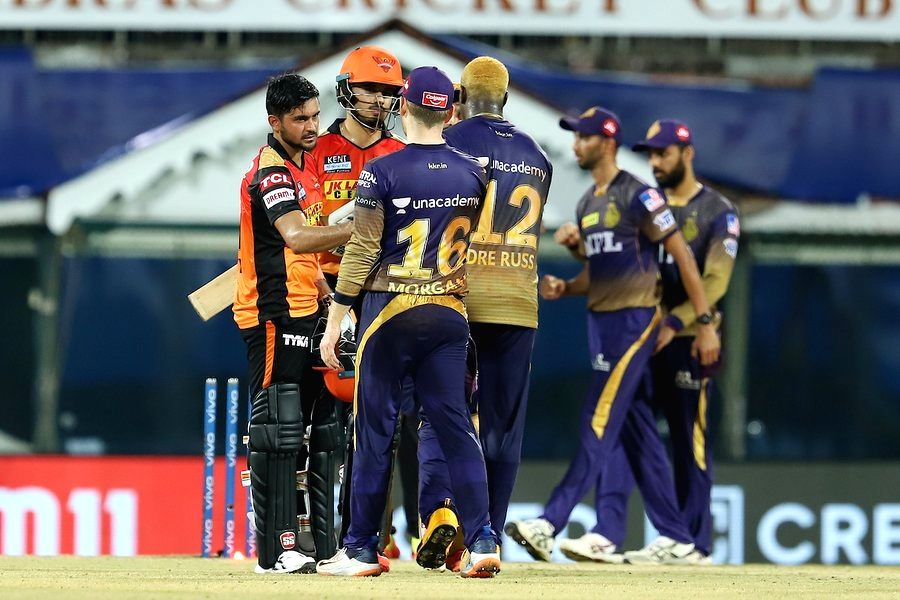 KKR beat SRH by 10 runs  (Credit: BCCI/IPL)  (Strictly not for Sale)