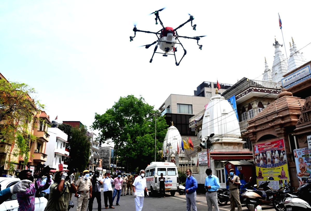 Kochi, April 17 (IANS) A startup at a village in Kochi has developed an Unmanned Aerial Vehicle ( UAV) drone supported with artificial intelligence that can help combat Covid-19 by monitoring body temperature, supplying essential commodities and spra