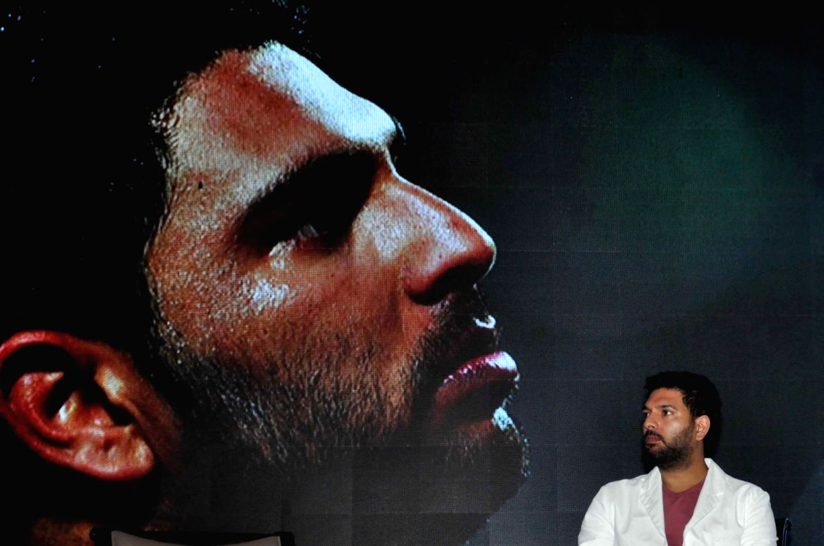 Kolkata: Former Indian Cricketer Yuvraj Singh at the 91st Annual General Meeting of the Indian Chamber of Commerce (ICC) in Kolkata, on July 9, 2019. (Photo: Kuntal Chakrabarty/IANS)