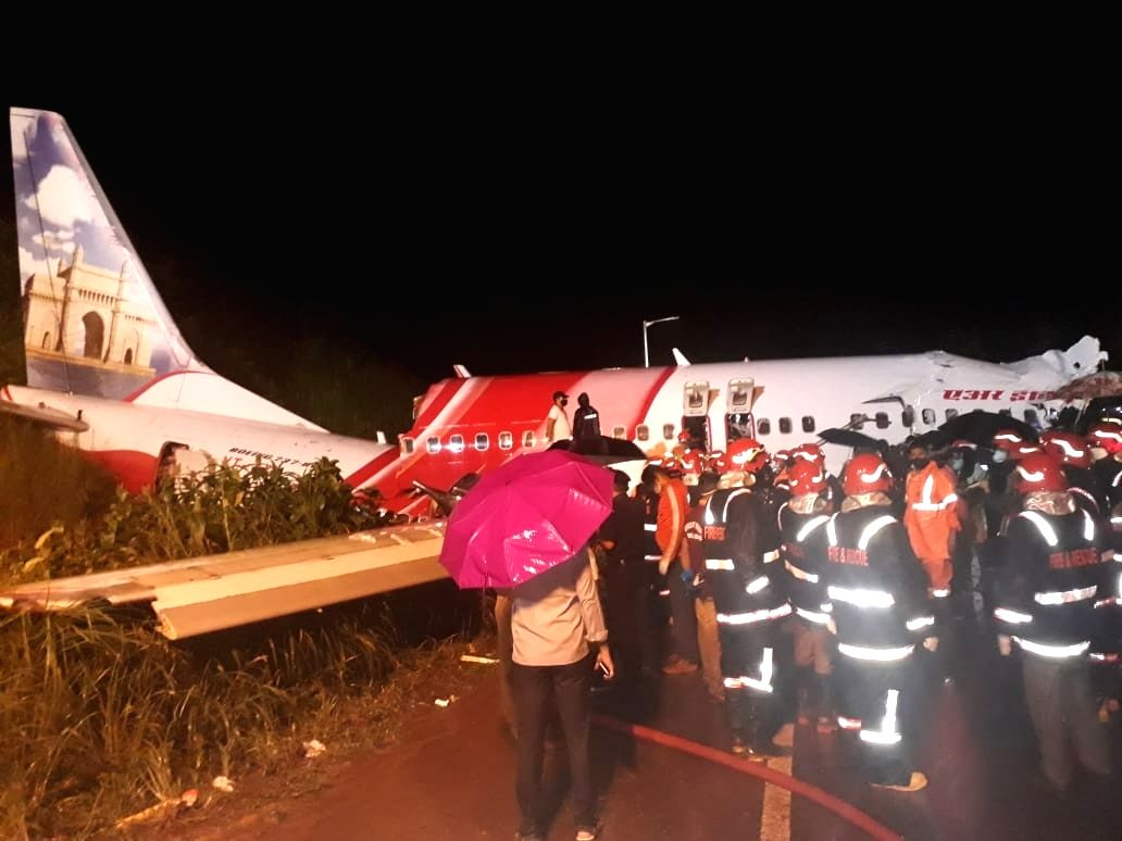 Kozhikode plane crash.