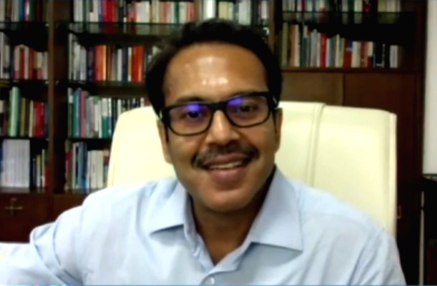 Kunal Kumar, Joint Secretary and Mission Director (Smart Cities), Ministry of Housing and Urban Affairs (MoHUA). (Credit : Smart Cities Mission/twitter)