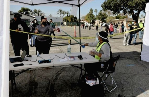 LA County to hit 1mn Covid-19 cases this weekend