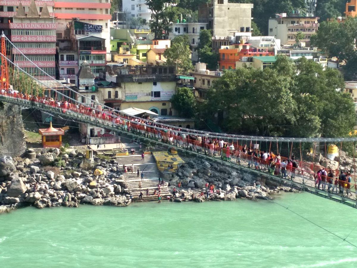 Lakshman Jhula, Rishikesh. (File Photo: IANS)