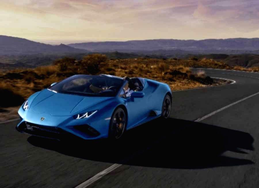 Lamborghini launchs the Huracan EVO Rear-Wheel Drive Spyder sports car in India (Representational Image)