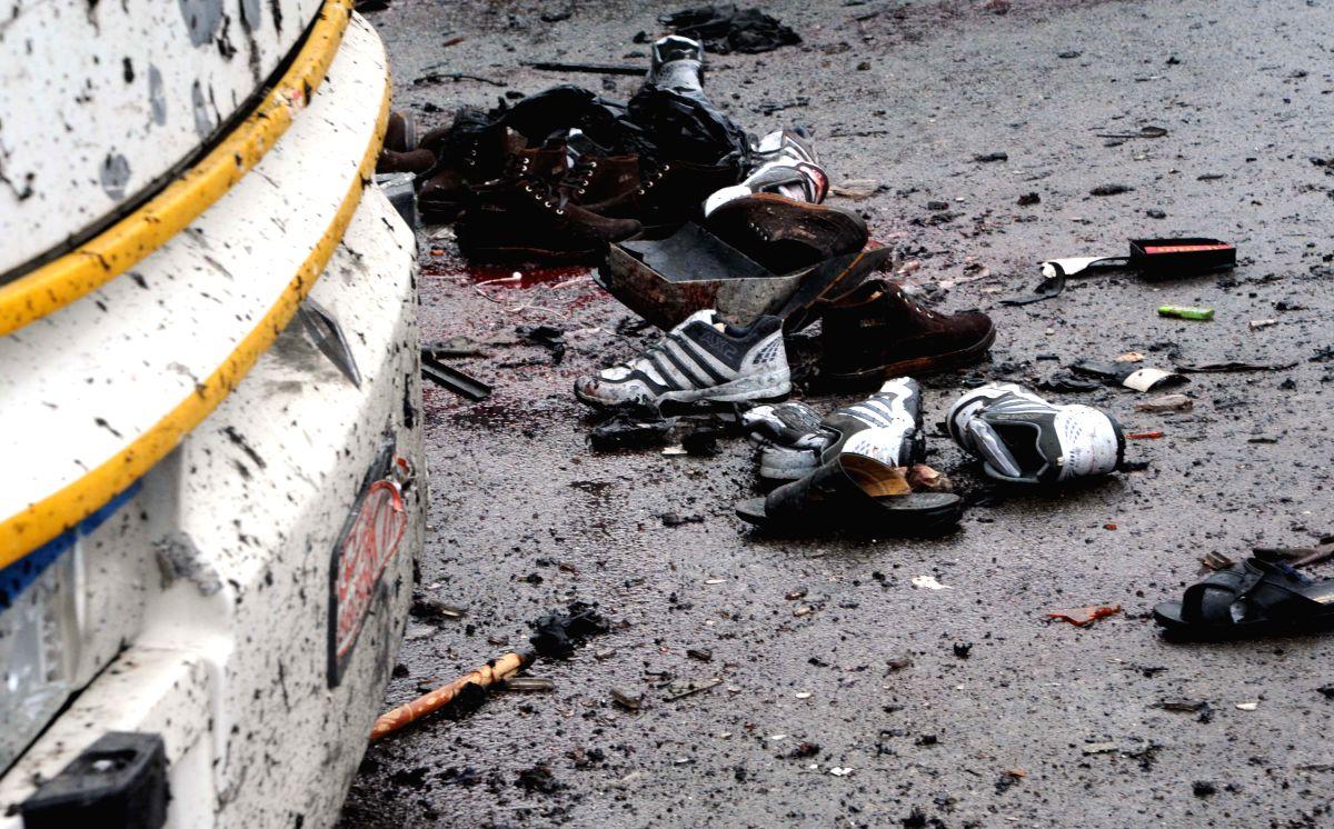 Landmines kill 18 in Syria