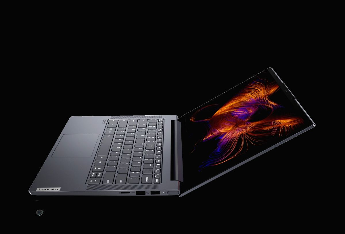 Lenovo launches AI-enabled Yoga Slim 7i laptop in India.