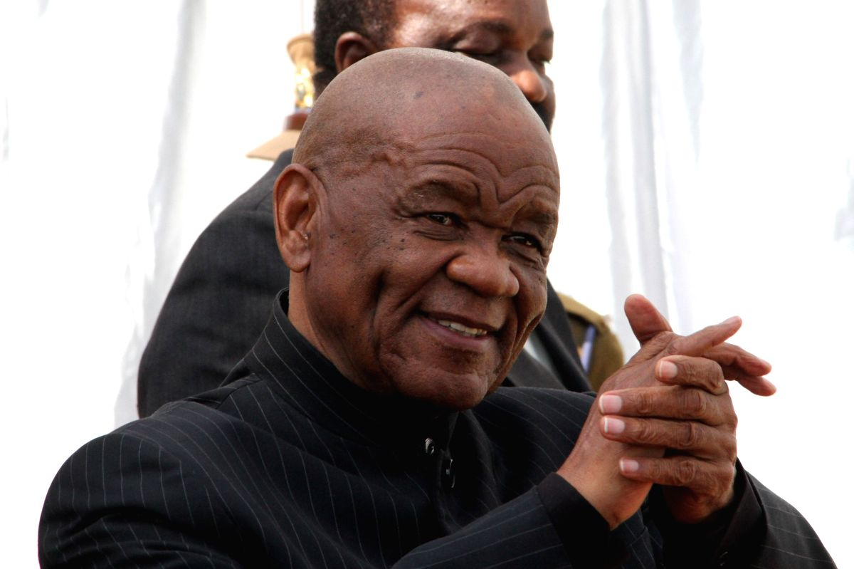 Lesotho's Prime Minister Thomas Thabane (Xinhua/Wan Da/IANS)